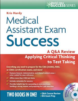 Medical Assistant Exam Success By Hardy, Kris